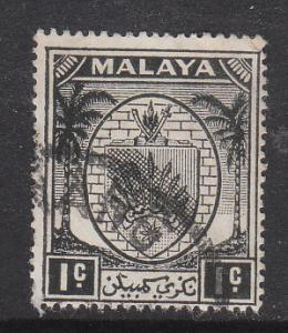 Malaya Negri Sembilan 1949 Sc 38 1c Used