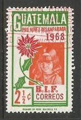GUATEMALA 405 VFU 854B-3