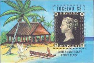 1990 Tokelau #171, Complete Set, Never Hinged