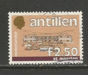 Netherlands Antilles   #546  Used  (1986)  c.v. $1.75