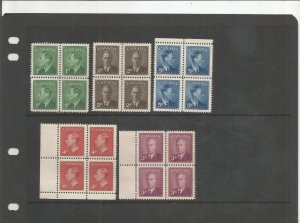 CANADA BLOCK OF 4 COLLECTION, MNH, OG