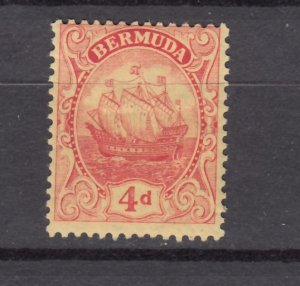 J26612 JLstamps 1910-24  bermuda mh #46 wmk 3 ship