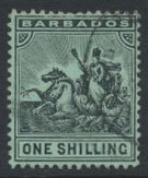 Barbados SG 169 SC# 100  Used    see scans and details