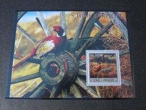 St. Thomas & Prince Islands 2003 Sc 1489-90 Bird set MNH