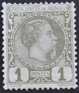 DYNAMITE Stamps: Monaco Scott #1 – UNUSED