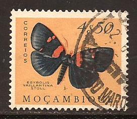 Mozambique  #  378  used