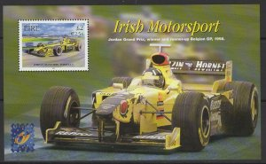 IRELAND SGMS1452 2001 BELGICA 2001 INTERNATIONAL STAMP EXHIBITION MNH