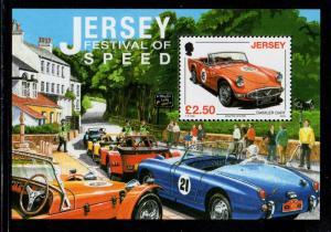 Jersey Sc 1334 2008 Speed Festival stamp sheet mint NH