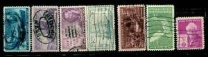 1947 Commemoritive Year set - Used (7 Stamps)