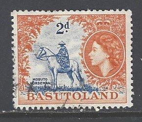 Basutoland Sc # 48 used (DT)
