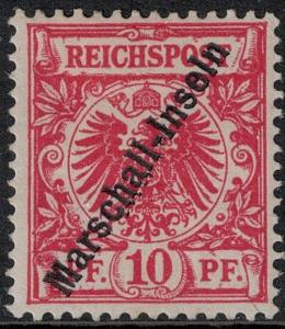 Marshall Islands SC 3 Mint 1897 SCV$ 55.00