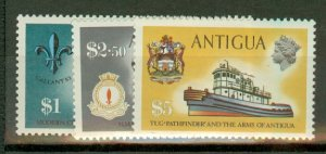 BH: Antigua 241-257 MNH (wmks not verified) CV $36.85; scan shows only a few