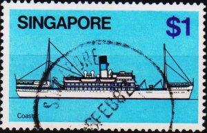 Singapore. 1980 $1 S.G.373 Fine Used