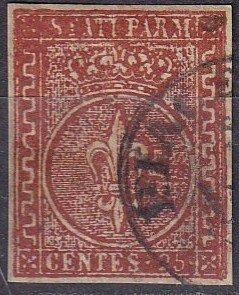 Italy Parma #8  Used CV $450.00 (Z7957)