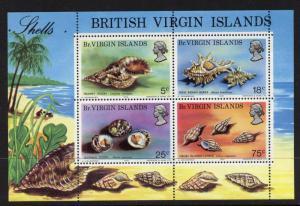 Virgin Islands 277a MNH Shells