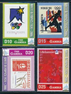 Gambia -Turin Olympic Games Sports Stamps (2006)