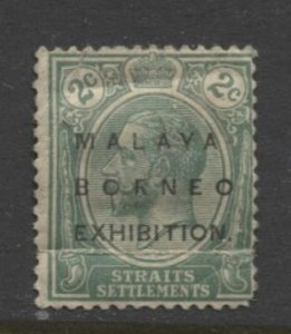 STAMP STATION PERTH Straits Settlements # Malaya-Borneo Exhibition No stop-A
