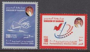 Bahrain 581-582 MNH VF