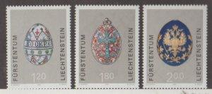 Liechtenstein Scott #1203-1204-1205 Stamps - Mint NH Set