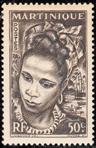 Martinique #219 Used