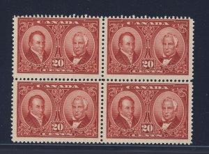 Canada MNH Block #148-20c MNH F/VF Guide Value = $150.00