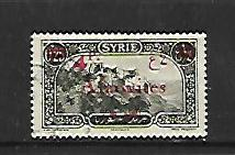 ALAOUITES, 39, USED, STAMPS OF SYRIA 1925 OVPTD