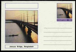 Chartonia (Fantasy) Bridges - Jamuna Bridge, Bangladesh p...