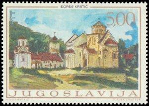 Yugoslavia #942-946, Complete Set(5), 1968, Art, Never Hinged