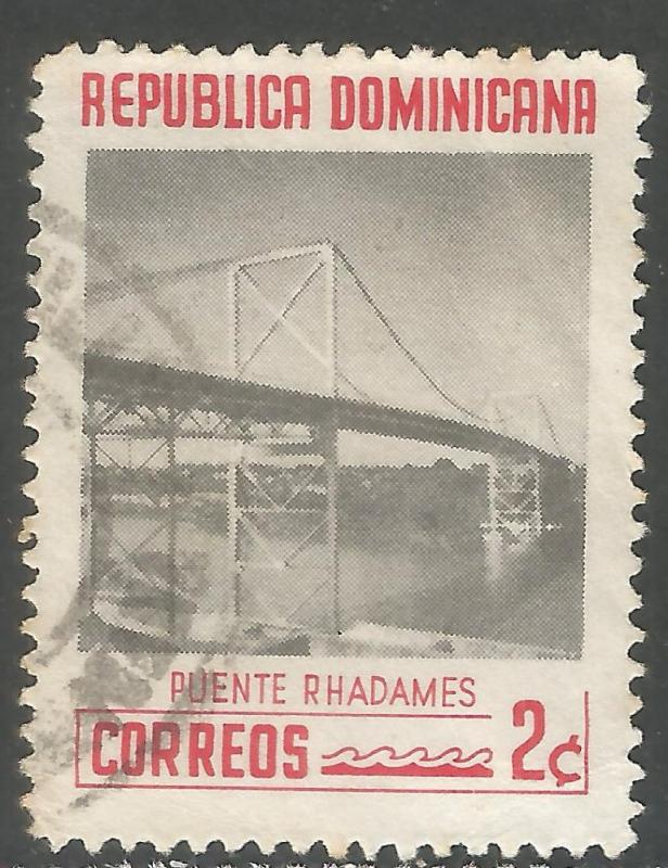 DOMINICAN REPUBLIC 520 VFU BRIDGE L861-1