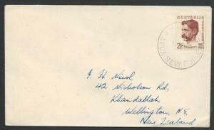 PAPUA NEW GUINEA 1949 Australia franking cover ex BUIN.....................12409