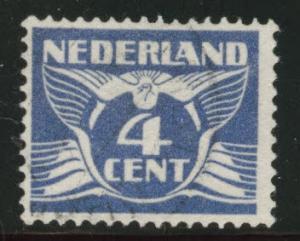 Netherlands Scott 146 used 1924 stamp