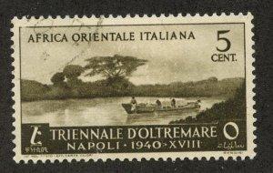 Italian East Africa, Scott #27, Used