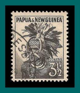 Papua New Guinea 1958 Headdress, used  139,SG6a