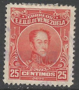 VENEZUELA 277 VFU Z4121-2