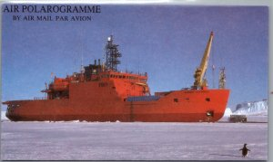 Australian Antarctic Territory, Ships, Air Letters