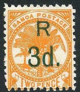 Samoa SG80 3d on 2d Deep Orange M/M