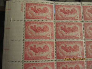 SCOTT 1120 4 CENT OVERLAND MAIL 1958 OG