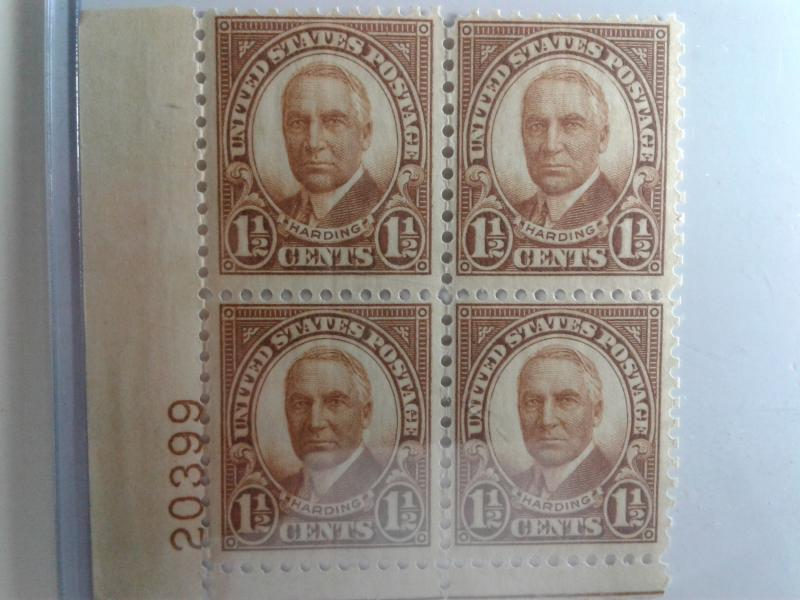 SCOTT # 684 PLATE BLOCK GEM MINT NEVER HINGED