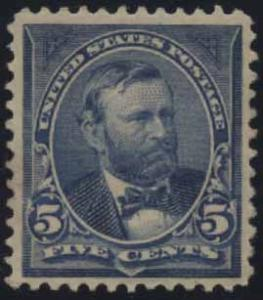 US Scott #281 Mint, VF/XF, Light Hinge
