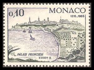 Monaco 618 Mint VF NH