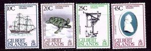 Gilbert Is 321-24 MNH 1979 Capt Cook    (ap5493)