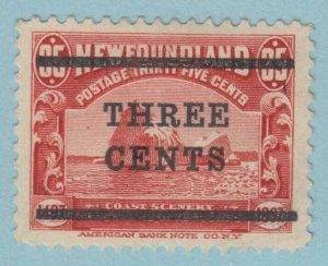 NEWFOUNDLAND 130  MINT HINGED OG *  NO FAULTS VERY  FINE !