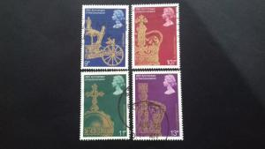Great Britain 1978 The 25th Anniversary of the Coronation of Elizabeth II Used
