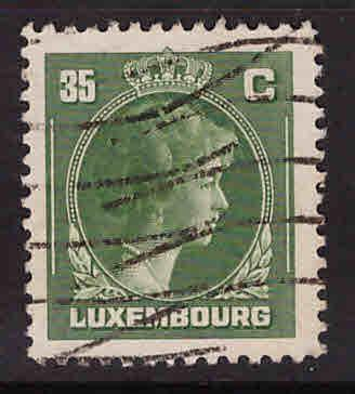 Luxembourg Scott 221 Used stamp
