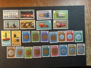 GUERNSEY # 173-198-MINT NEVER/HINGED--4 COMPLETE SETS--1979