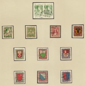 Switzerland 1913-1943 Pro Juventute fine Collection