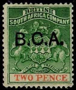 NYASALAND - BCA SG2, 2d sea-green & vermilion, M MINT. Cat £13.