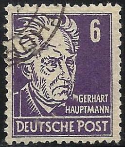 German Democratic Republic 1948 Scott# 10N30 Used