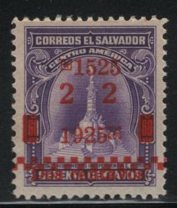 El Salvador 1925 San Salvador Anniversary Sc# 506 NH