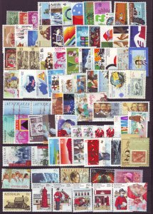 Z730 JLstamps australia mnh all different and sound #